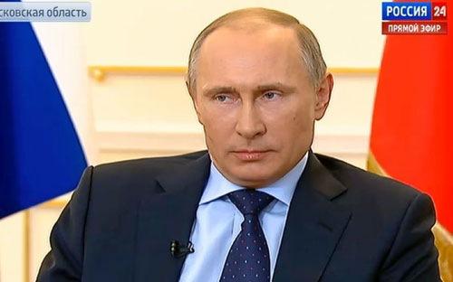 Putin mong không phải dùng vũ lực tại Ukraine
