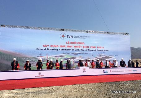 Vay nước ngoài 85% vốn xây Dự án Nhiệt điện 36.000 tỷ đồng tại Bình Thuận