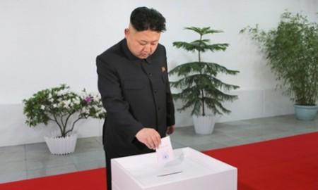 Lãnh đạo Triều Tiên trúng cử quốc hội với 100% phiếu thuận