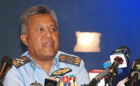 Tư lệnh không quân Malaysia, tướng Rodzali Daud