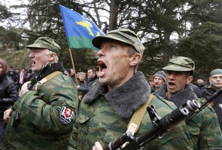 Crimea tuyên bố độc lập trước ngày trưng cầu dân ý