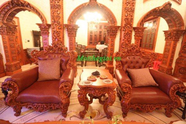 Vén bức màn bí ẩn về nội thất lâu đài Tổng Hải Sơn