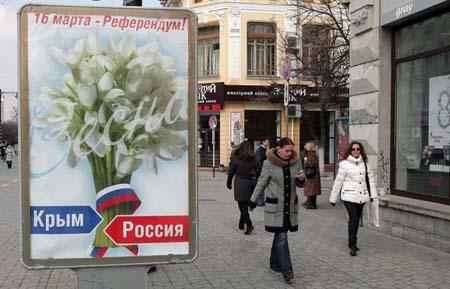 Cuộc trưng cầu dân ý tại Crimea ngày 16/3 đang rất được thị trường chú ý