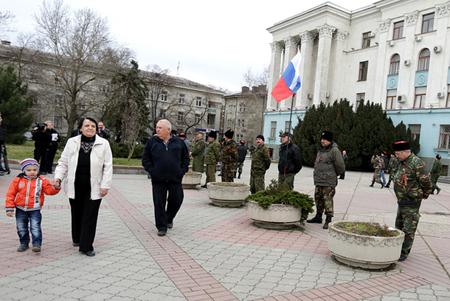 Người dân Crimea đang mong chờ ngày gia nhập nước Nga