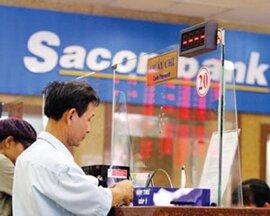 Cổ phiếu Sacombank tăng điểm mạnh