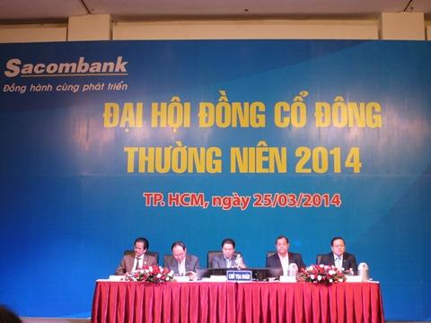 Cổ đông cá nhân Sacombank bức xúc, 97% đồng ý nhận sáp nhập Southern Bank