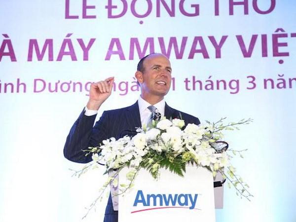 Tập đoàn Amway đầu tư thêm 25 triệu USD vào Việt Nam