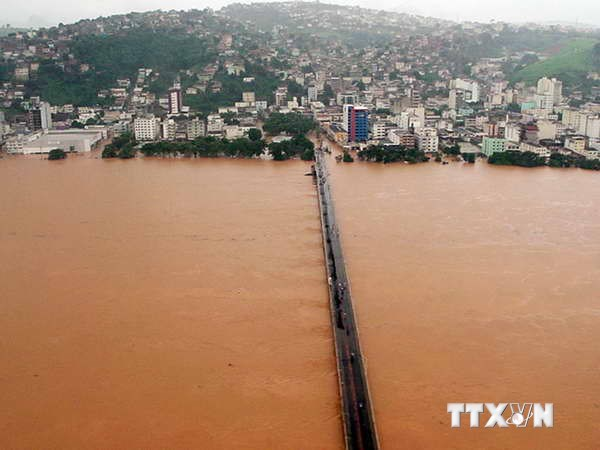 Thế giới thiệt hại 140 tỷ USD vì các thảm họa năm 2013