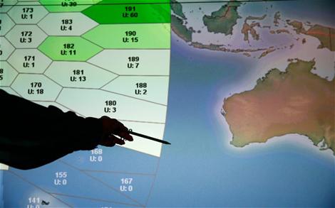 MH370 được cho là đã bị rơi ở Ấn Độ Dương, ngoài khơi thành phố Perth của Úc.