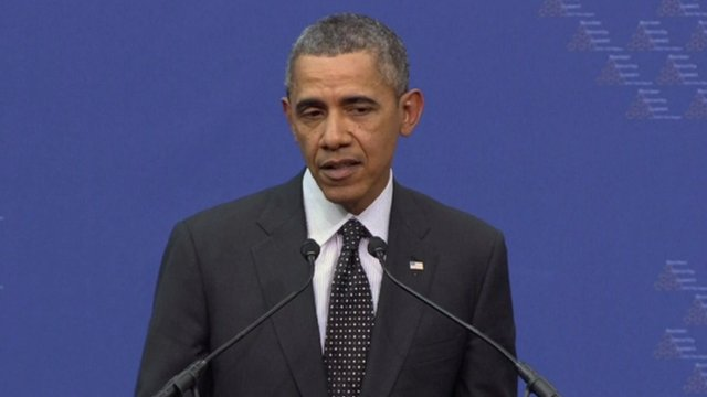 Tổng thống Obama dọa trừng phạt thêm Nga.