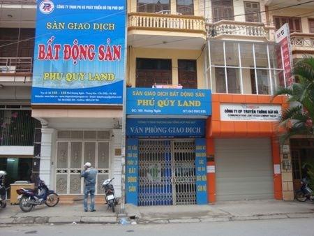 Hà Nội đóng cửa 50% sàn giao dịch BĐS
