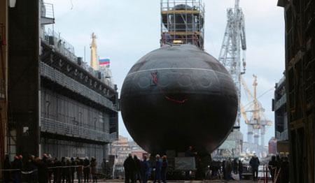 Nga hạ thủy tàu ngầm thứ tư đóng cho Việt Nam