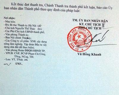 Thành phố Hà Nội chỉ đạo thanh tra làm rõ vi phạm tại dự án B5 Cầu Diễn