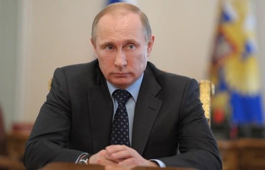 Ông Putin nghèo nhất Điện Kremlin