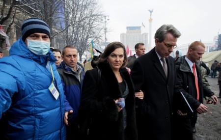 Bà Nuland đến Ukraine trong những ngày chính biến hồi tháng 2