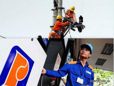Bộ trưởng Vũ Huy Hoàng lệnh EVN và Petrolimex công khai thu nhập lãnh đạo