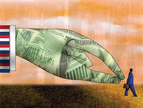 Lo cho vay nợ nước ngoài