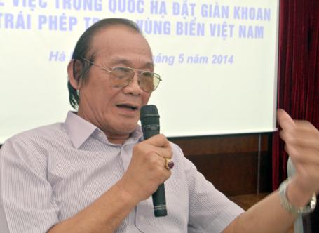 """Ông Trần Công Trục: """"Việt Nam chắc thắng khi kiện Trung Quốc ra Tòa án quốc tế"""""""