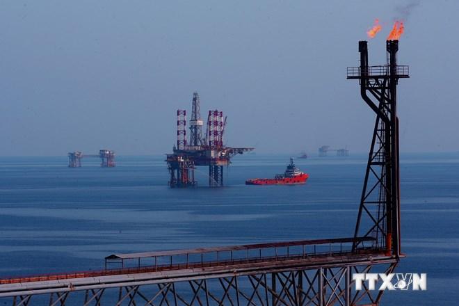 [Photo] Mỏ dầu khí Bạch Hổ có trữ lượng khoảng 300 triệu tấn