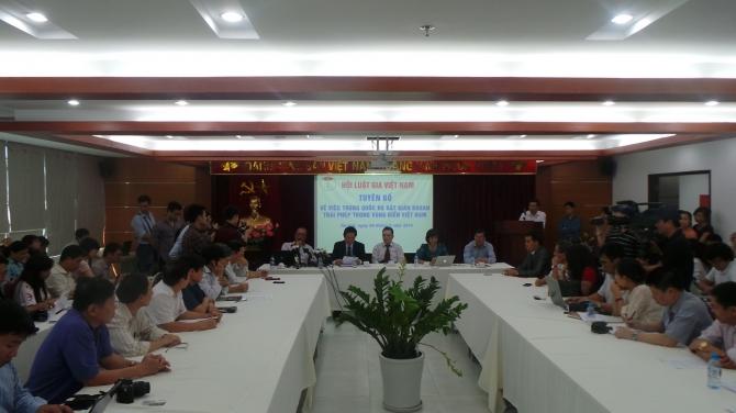 Hội luật gia Việt Nam: Trung Quốc đã bất chấp luật pháp quốc tế, vi phạm chủ quyền Việt Nam