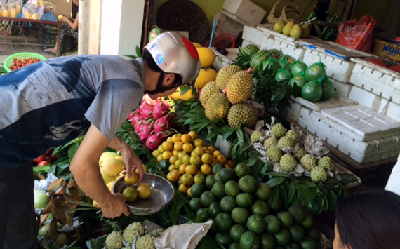 hoa-quả, thực-phẩm, thực-phẩm-giải-nhiệt, hoa-quả-giải-nhiệt, tăng-giá, nắng-nóng, chợ, Hà-Nội, cua-đồng, hút-khách