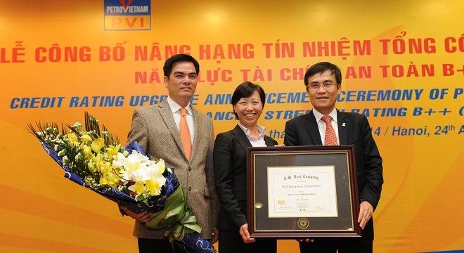 A.M. Best nâng hạng tín nhiệm cho doanh nghiệp BH Việt Nam