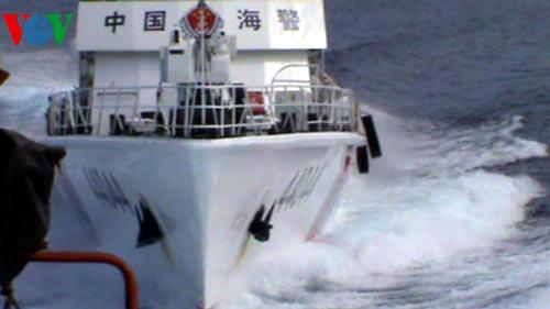 Hôm nay, Trung Quốc huy động 130 tàu uy hiếp lực lượng chấp pháp Việt Nam