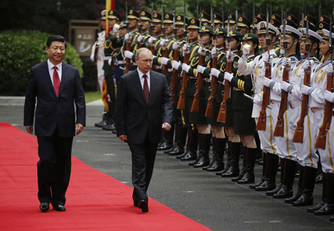 """Putin thăm Trung Quốc, giành """"cú hích ngoại giao"""""""