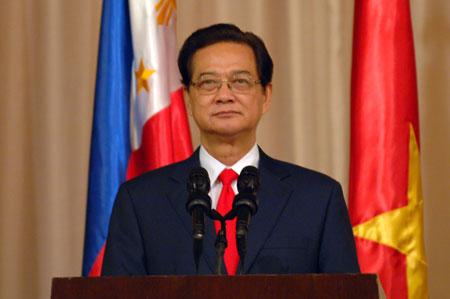 Thủ tướng Nguyễn Tấn Dũng: Không đánh đổi chủ quyền lấy hữu nghị viển vông