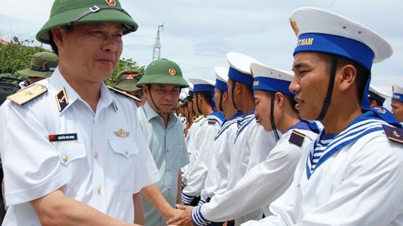 Những chỉ huy 8x trên đảo chìm Trường Sa