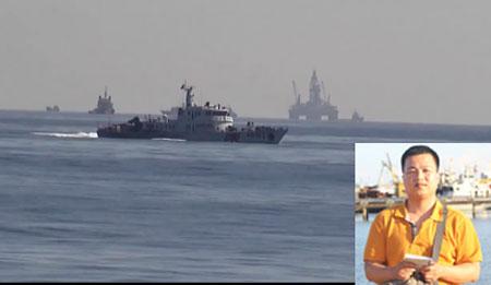 """Tường thuật từ vùng """"biển nóng"""": Ngoạn mục phá vòng vây tàu Trung Quốc"""