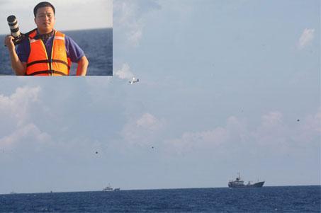 TƯỜNG THUẬT: Giàn khoan Hải Dương 981 dịch chuyển khoảng 140m