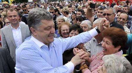 Hành trình lên ngôi Tổng thống của ông hoàng sô-cô-la Ukraine