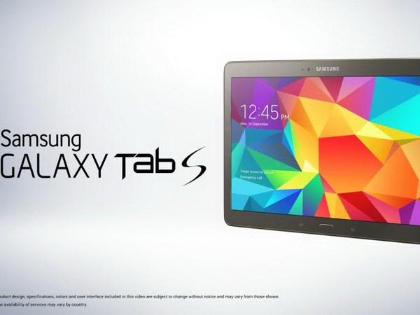 Máy tính bảng Samsung Galaxy Tab S sẽ ra mắt vào 13/6
