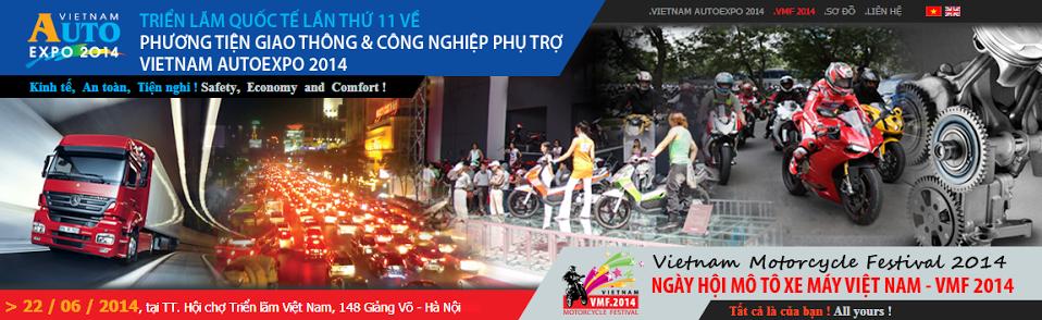 Vietnam AutoExpo 2014 sắp diễn ra tại Hà Nội