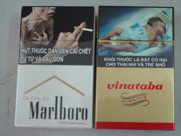 Tịch thu thoàn bộ thuốc lá không in hình cảnh báo sức khỏe