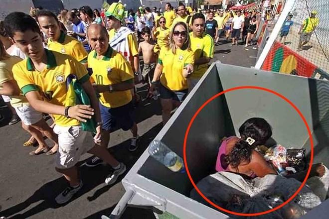 """Bức ảnh khiến cả thế giới phải """"căm ghét"""" World Cup 2014"""