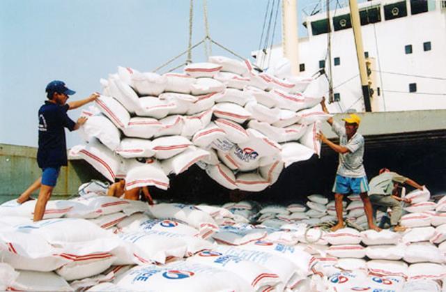 Xuất khẩu gạo khởi sắc