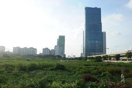 Hà Nội: Cận cảnh dự án cao ốc 100 tầng làm vườn rau