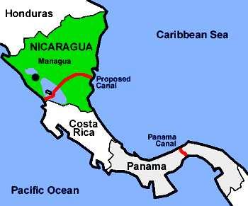 Nicaragua phê chuẩn lộ trình cho kênh đào 40 tỷ USD nối hai đại dương