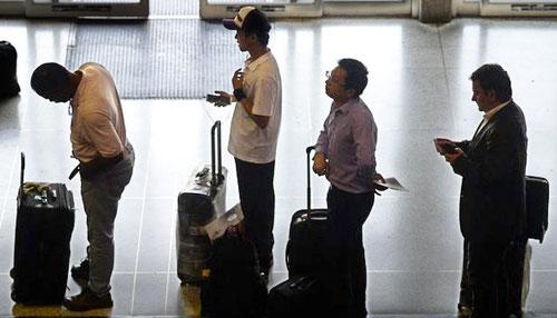 'Thuế thở ' ở sân bay Venezuela