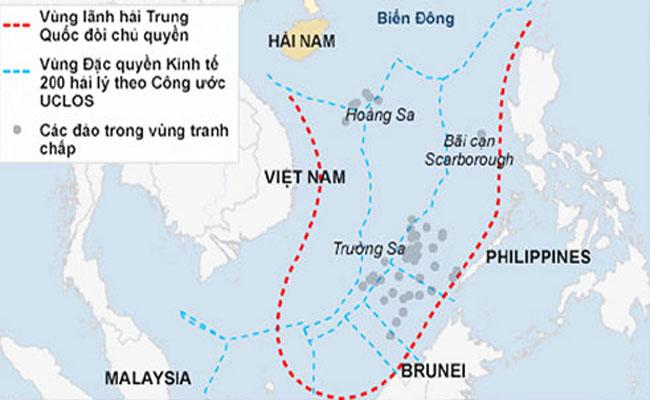 """Trung Quốc ngang ngược """"cấm"""" khai thác dầu ở Biển Đông"""