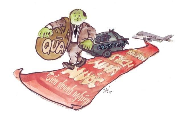 Cán bộ đi công tác nước ngoài: Không được dùng tiền doanh nghiệp