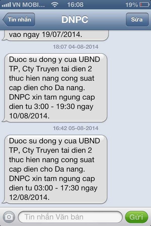 Cúp điện kéo dài, doanh nghiệp, người dân Đà Nẵng ít nhiều... bối rối