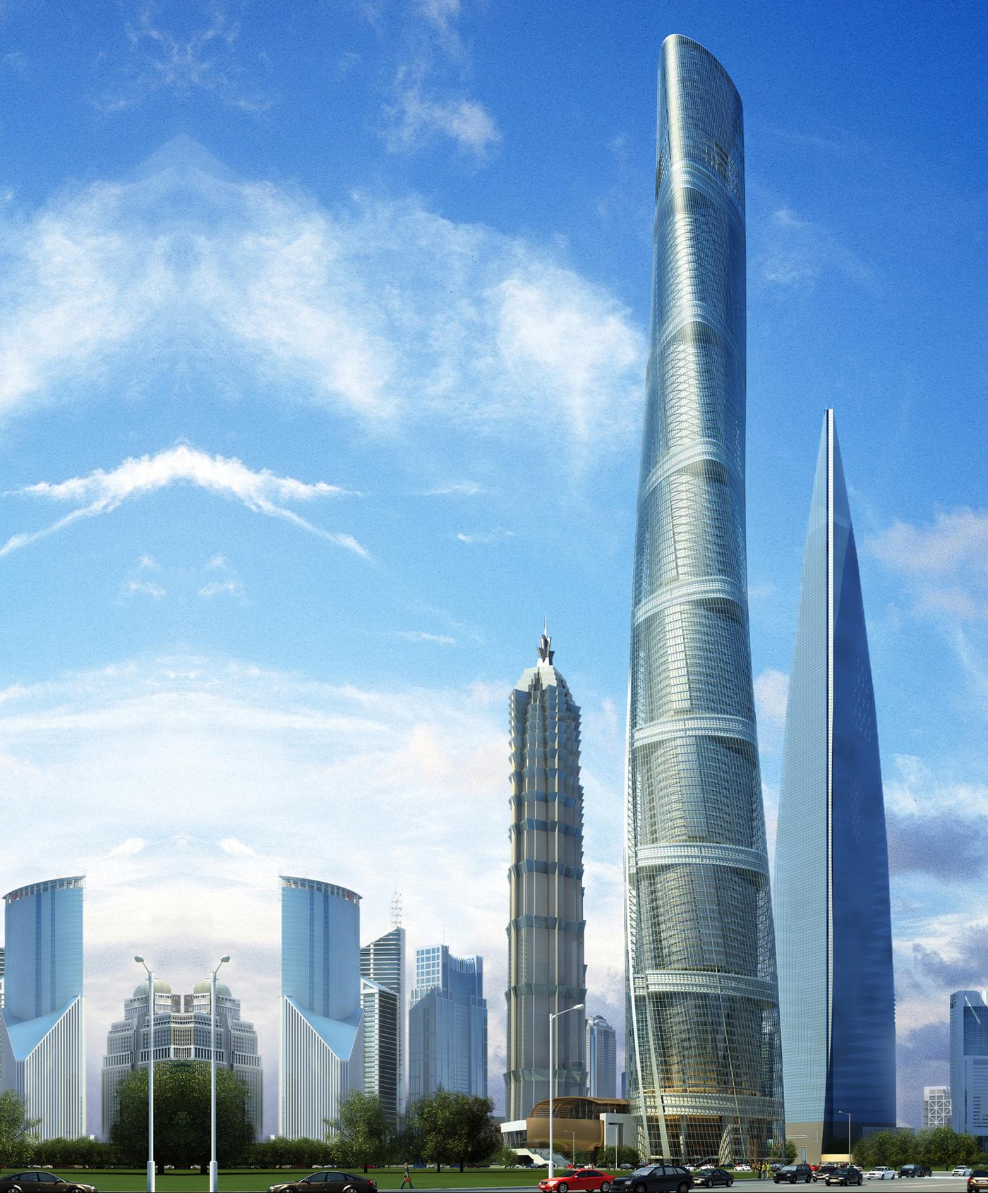 Trung Quốc sắp hoàn thành trung tâm tài chính cao thứ 2 thế giới