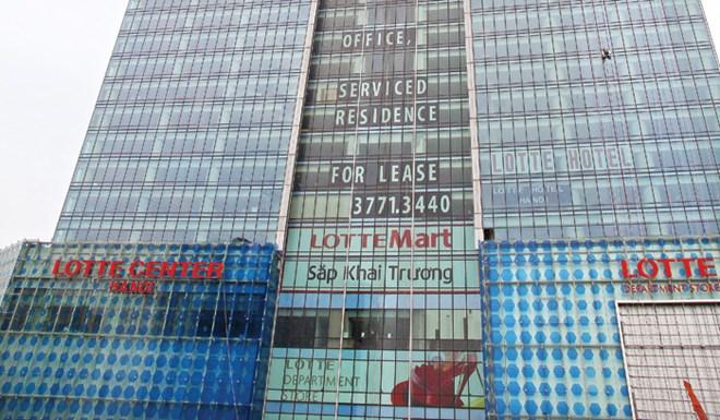 Trung tâm thương mại cao cấp đìu hiu, lời cảnh báo cho Lotte