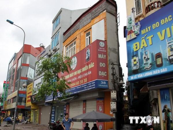 """Hà Nội tập trung xử lý dứt điểm nhà """"siêu mỏng, siêu méo"""""""