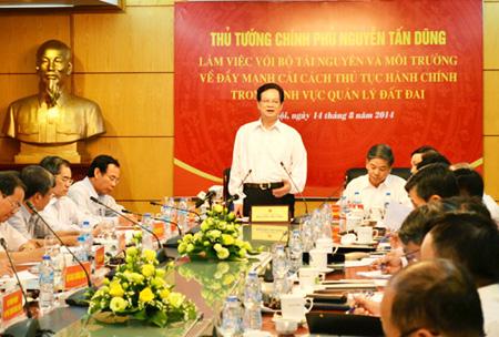 Thủ tướng lệnh: bịt kẽ hở, chặn tiêu cực trong sử dụng đất đai