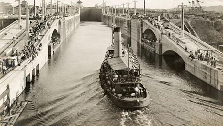 Nhìn lại 100 hoạt động của kênh đào Panama