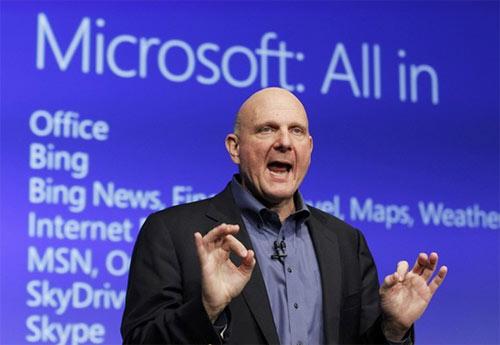 Cựu CEO Microsoft bỏ nghề về… chơi bóng rổ